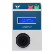 Алкометр-сигнализатор АлкоБарьер пороговый индикаторный бесконтактный с электрохимическим датчиком стационарный для проходной и СКУД