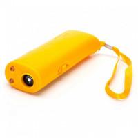 Отпугиватель собак Sensor AD-100 ультразвуковой карманный, фонарик + Крона 9В в комплекте