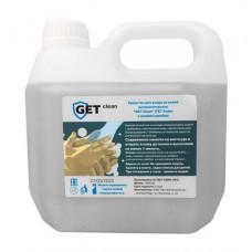 Косметический гель-антисептик для дезинфекции рук GET Clean (ГЕТ Клин) с ионами серебра, 5 литров